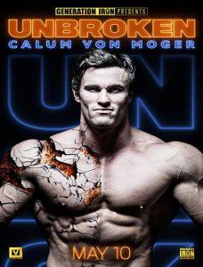 مستند Calum Von Moger Unbroken 2019