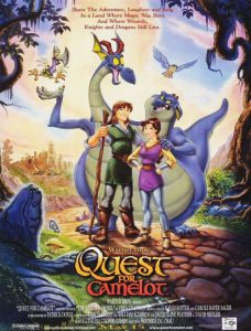 دانلود انیمیشن Quest For Camelot 1998