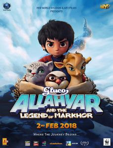 دانلود انیمیشن Allahyar And Legend Of Markhor 2018