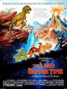 انیمیشن The Land Before Time 1988
