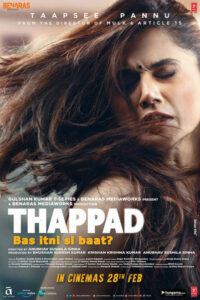 دانلود فیلم سیلی Thappad 2020
