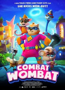 دانلود انیمیشن وامبت سلحشور Combat Wombat 2020