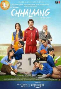 دانلود فیلم پرش Chhalaang 2020