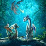 دانلود انیمیشن اژدهایان بازیگوش Pixy Dragons 2019 دوبله فارسی