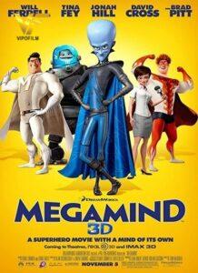 دانلود انیمیشن نابغه Megamind 2010 دوبله فارسی
