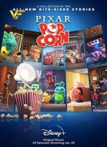 دانلود انیمیشن پیکسار پاپ کورن Pixar Popcorn 2021 دوبله فارسی
