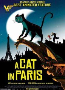 دانلود انیمیشن گربه ای در پاریس A Cat in Paris 2010