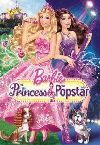 دانلود انیمیشن باربی: پرنسس و ستاره پاپ Barbie: The Princess & the Popstar 2012