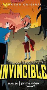 دانلود انیمیشن سریالی شکست ناپذیر Invincible 2021 دوبله فارسی
