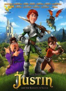 دانلود انیمیشن جاستین و جنگجوی والور Justin and the Knights of Valour 2013