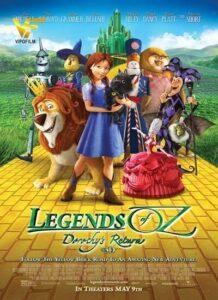 دانلود انیمیشن افسانه های شهر اوز: بازگشت دوروتی 2013 Legends of Oz: Dorothy's Return
