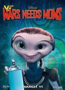دانلود انیمیشن مریخی ها مامان میخواهند Mars Needs Moms 2011