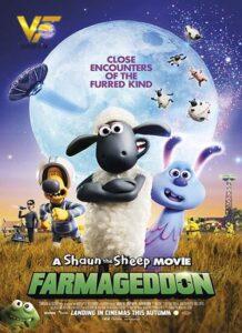 دانلود انیمیشن بره ناقلا : فارماگدون Shaun the Sheep Movie: Farmageddon 2019
