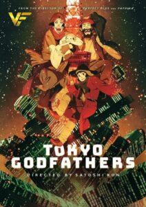 دانلود انیمیشن پدرخوانده های توکیو Tokyo Godfathers (Nasii din Tokyo) 2003