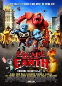 دانلود انیمیشن فرار فضایی ها از سیاره زمین Escape from Planet Earth 2014