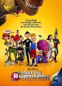 دانلود انیمیشن ملاقات با خانواده رابینسون Meet the Robinsons 2007