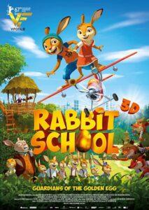 دانلود انیمیشن نگهبانان مدرسه خرگوش تخم مرغ طلایی Rabbit School: Guardians of the Golden Egg 2017