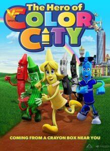 دانلود انیمیشن قهرمان شهر رنگی The Hero of Color City 2014
