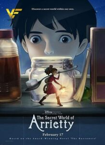 دانلود انیمیشن دنیای مخفی آریتی (بند انگشتی) The Secret World of Arrietty 2010