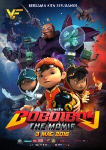 دانلود انیمیشن بوبو قهرمان کوچک BoBoiBoy: The Movie 2016