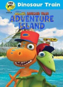 دانلود انیمیشن قطار دایناسور Dinosaur Train: Adventure Island 2021 دوبله فارسی