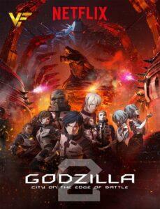 دانلود انیمیشن گودزیلا: شهری در خط مقدم Godzilla: City on the Edge of Battle 2018