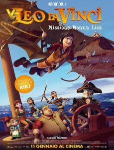 دانلود انیمیشن لئو داوینچی: ماموریت مونالیزا Leo Da Vinci: Mission Mona Lisa 2018