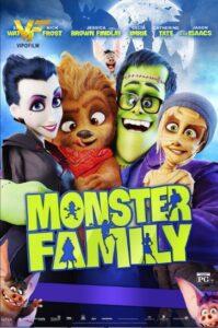 دانلود انیمیشن خانواده هیولاها Monster Family 2017