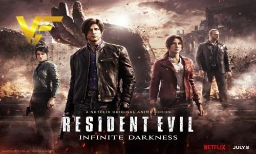 دانلود انیمیشن سریالی رزیدنت ایول Resident Evil: Infinite Darkness 2021 دوبله فارسی