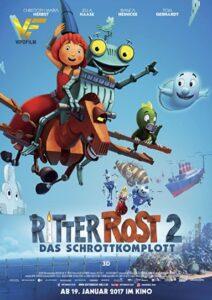 دانلود انیمیشن ربات آهنی Ritter Rost 2: Das Schrottkomplott 2017