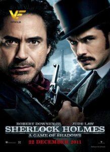 دانلود فیلم شرلوک هولمز 2 Sherlock Holmes: A Game of Shadows 2011 دوبله فارسی