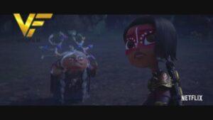 دانلود انیمیشن مایا و سه Maya and the Three 2021