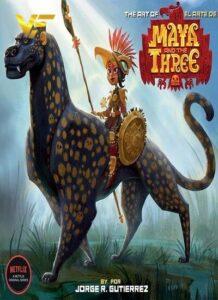 دانلود انیمیشن سریالی مایا و سه Maya and the Three 2021