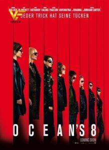 دانلود فیلم هشت یار اوشن Ocean's Eight 2018 دوبله فارسی