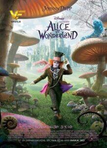 دانلود فیلم Alice in Wonderland 2010 دوبله فارسی