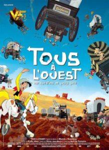 دانلود انیمیشن Go West : A Lucky Luke Adventure 2007 دوبله فارسی