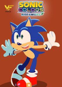 دانلود انیمیشن Sonic Colors: Rise of the Wisps 2021 دوبله فارسی