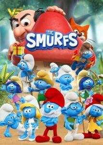 دانلود انیمیشن اسمورف ها The Smurfs 2021