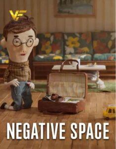 دانلود انیمیشن فضای منفی Negative Space 2017 دوبله فارسی