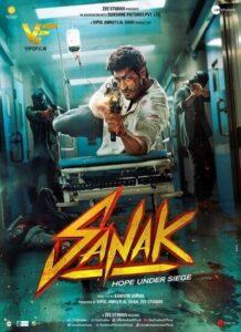 دانلود فیلم هندی خشم Sanak 2021